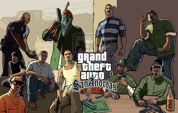 GTA San Andreas est maintenant disponible sur PlayStation 3