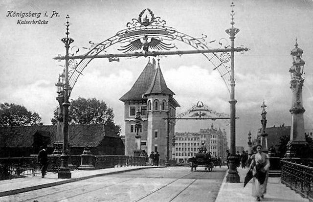 029 Königsberg - Kaiserbrücke by Kenan2, via Flickr