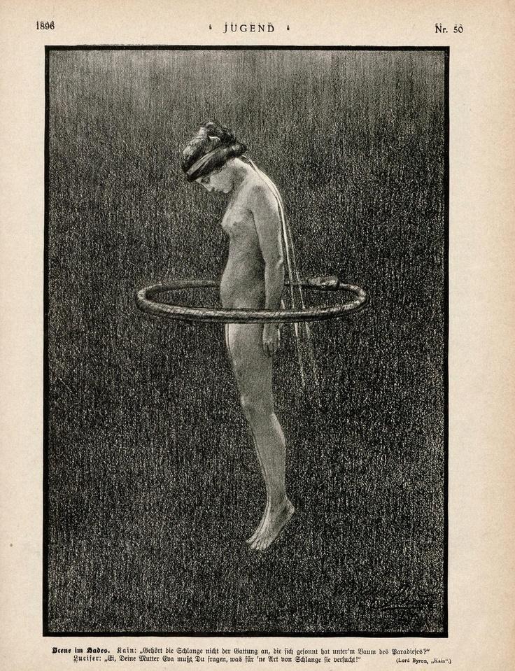 Ouroboros Hoop. Fidus (Hugo Reinhold Karl Johann Höppener); Jugend Magazine