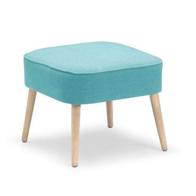 Bright color is always a welcome guest. The adorable Varvel Stool pops with color for any space. This versatile stool could serve as an extra seat or as a footstool to put up your feet.  Find the Varvel Stool in Aqua, as seen in the Happy Danish Modern Collection at http://dotandbo.com/collections/happy-danish-modern?utm_source=pinterest&utm_medium=organic&db_sku=zuo0330