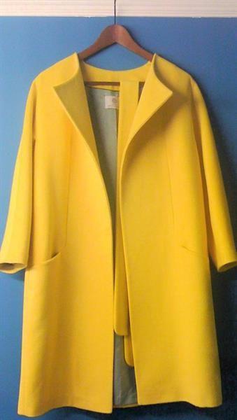 Желтое пальто заказ по почте