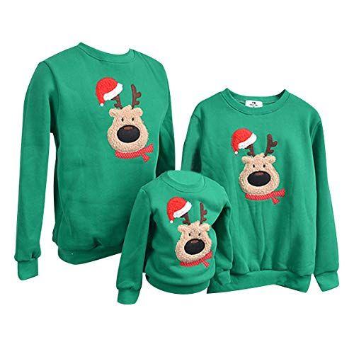 034c030a3f Weihnachtspullover-Familie-Pulli-Pullover-Weihnachten -Herren-Sweatshirt-Pullis-