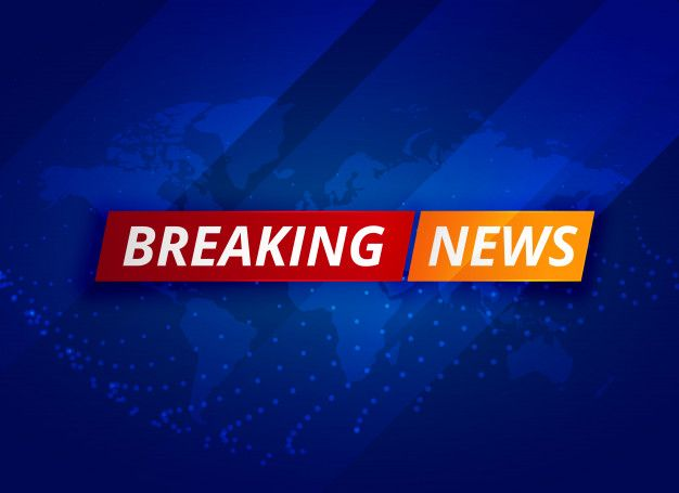 Download Blue Breaking News Tv Background For Free Last News Premier League News Birmingham News