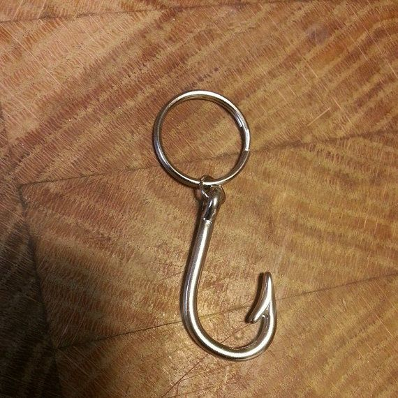 Hey, I found this really awesome Etsy listing at https://www.etsy.com/listing/181563179/fish-hook-keychain-for-the-country-girl