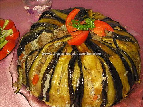 Патладжан maqluba (приятен вкус на Югоизточен Анадол)