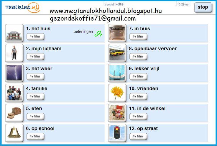 A Megtanulok hollandul blogban a 12. lecke   Út Hollandiába - Egészséges kávéval: Holland lecke 12