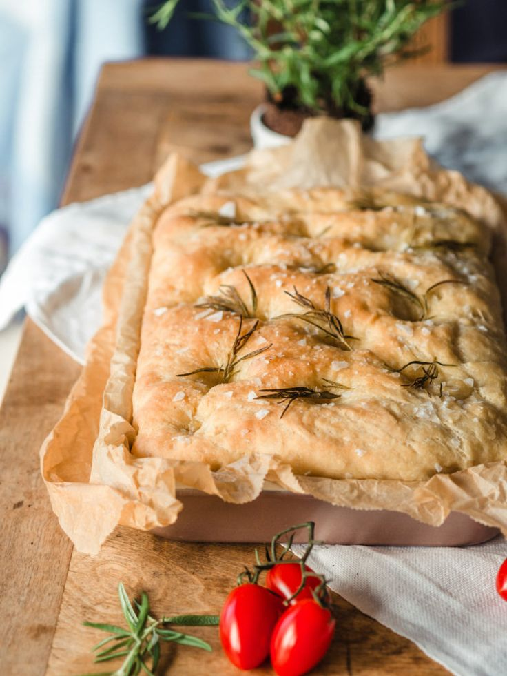 Naked chef focaccia