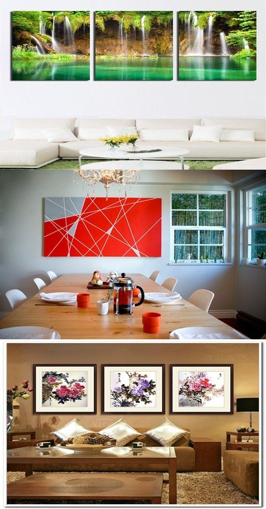 how to select the perfect pieces of art to decorate your home rh pinterest com
