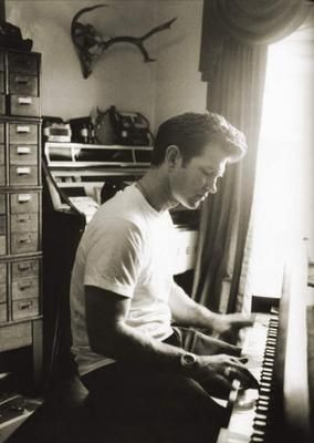 Chris Isaak-if you've never heard some of his early 80's stuff you should do yourself a solid and find it. Super good.