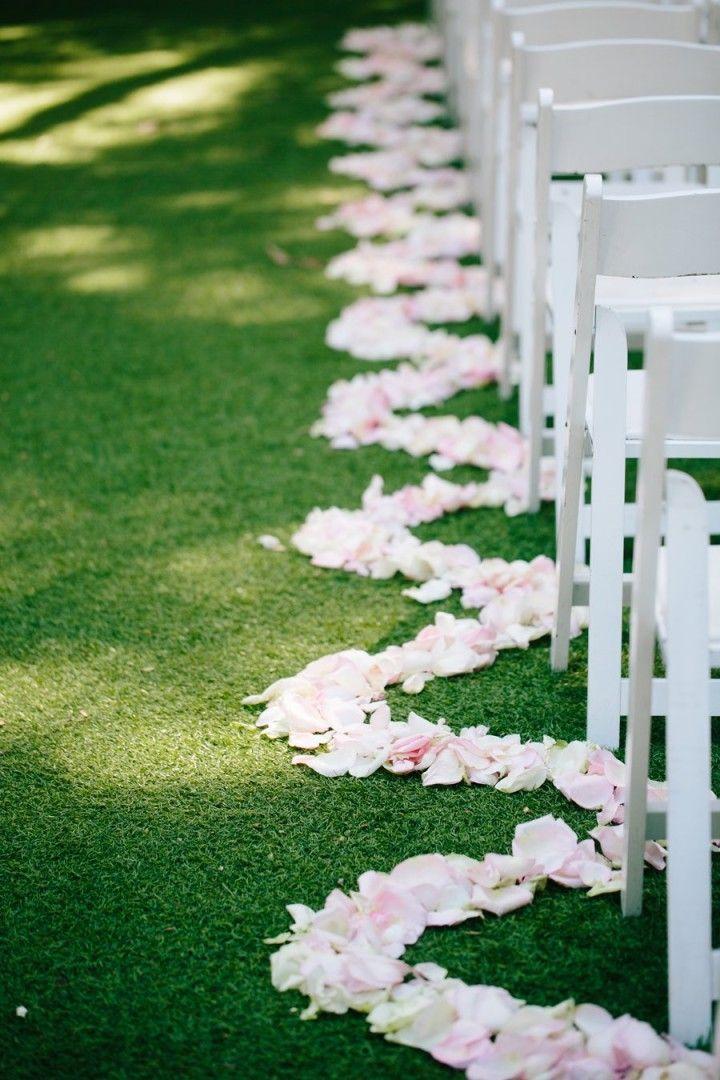 California Wedding Gorgeous Garden Wedding Wedding Aisle