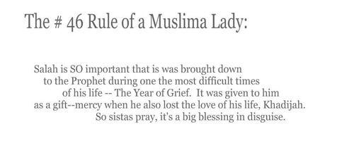 Rule Of Muslima Lady