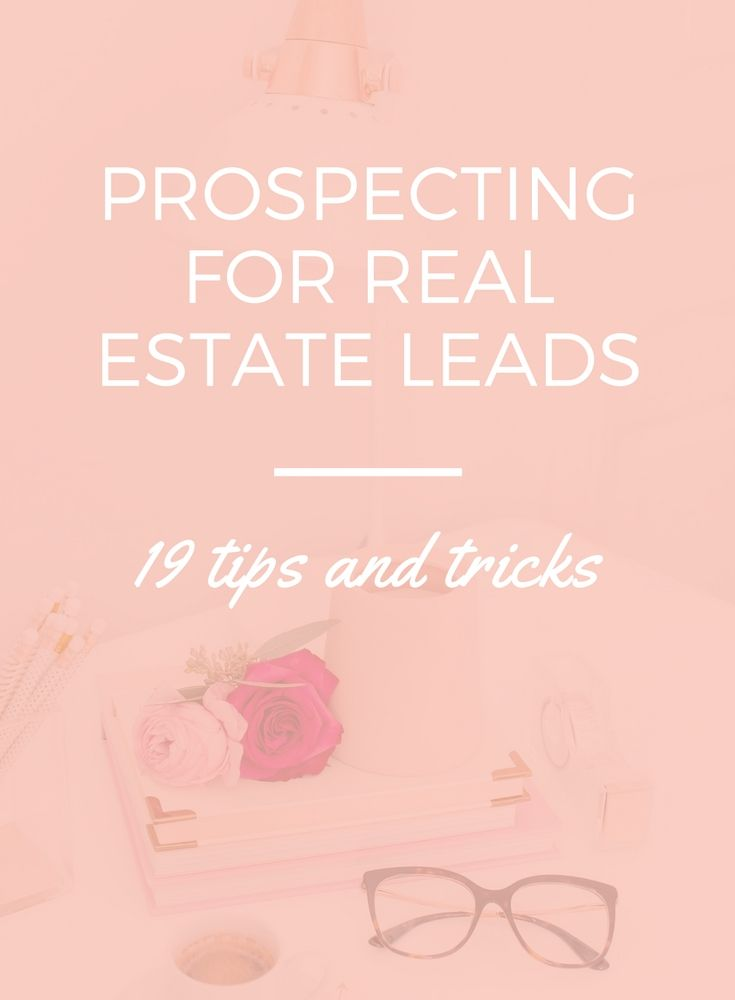 You can spend copious amounts of money prospecting for real estate leads with ZERO results. But prospecting for real estate leads is something that needs...