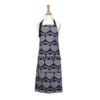 Fartuch kuchenny Sequin Hearts marki Rushbrookes - Decorto