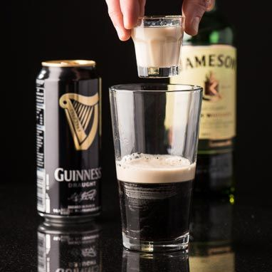 """The Irish Car Bomb is a typical drop shot similar to a boilermaker. It gets its name from the Irish ingredients, as well as the """"bomb-like"""" dropping of the shot glass and reference to the car bombings that plagued Northern Ireland"""