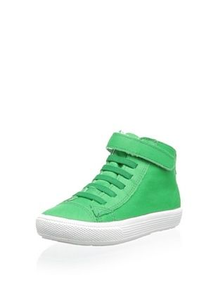 28% OFF Old Soles Kid's Wasabi High Top (Green)