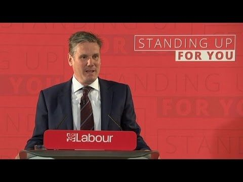 Labour unveils plan to protect EU and UK Published on Apr 25, 2017 Labour have pledged to ditch the Tory Brexit strategy and guarantee the rights of EU citizens before negotiations if they win the election.