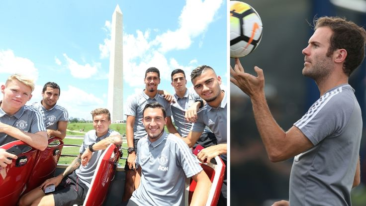 MANCHESTER UNITED SPORT NEWS: TOUR BRIEFING: FIRST DAY IN WASHINGTON DC