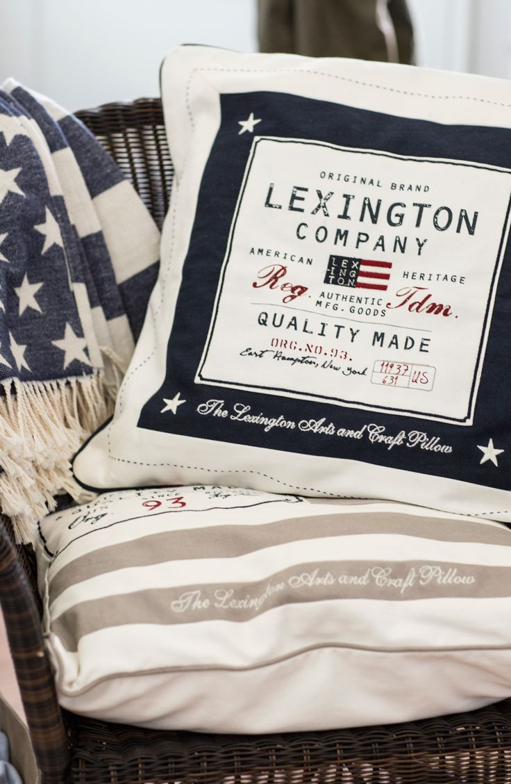Shams from Lexington Company Spring 2015 Collection.