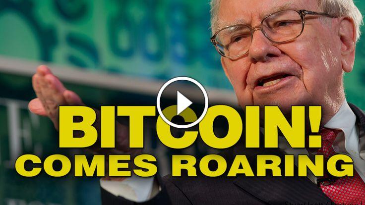Bitcoin is roaring back