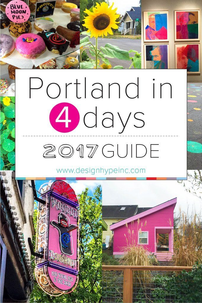 You can definitely see Portland in four days if you plan ahead! My suggestion is to stay in Portland for two days and the other two take day trips, one out to the Columbia River Gorge and one day spent on the Oregon Coast. These are not to be missed and I've included them at the end of this guide. You can use this guide to plan. You can do all of Downtown, Northwest and Southwest Portland in one day. Day two can be spent wandering through Southeast and Northeast Portland. Without further ...