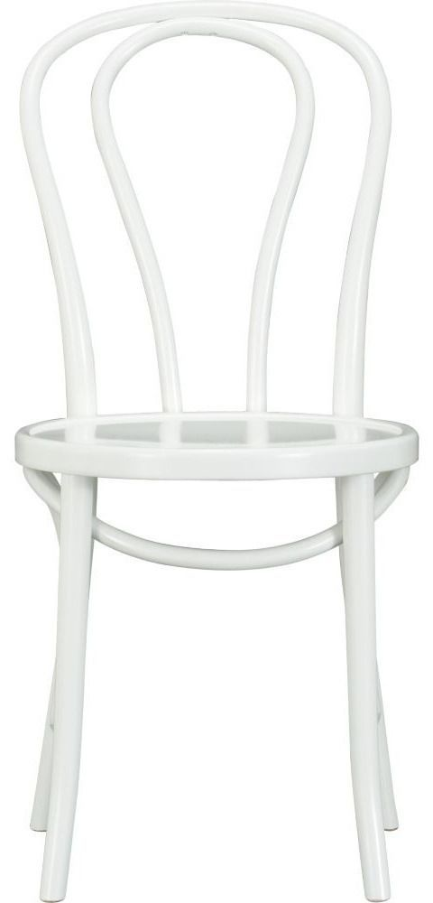 vienna white side chair crate barrel 109 domino com rh pinterest com