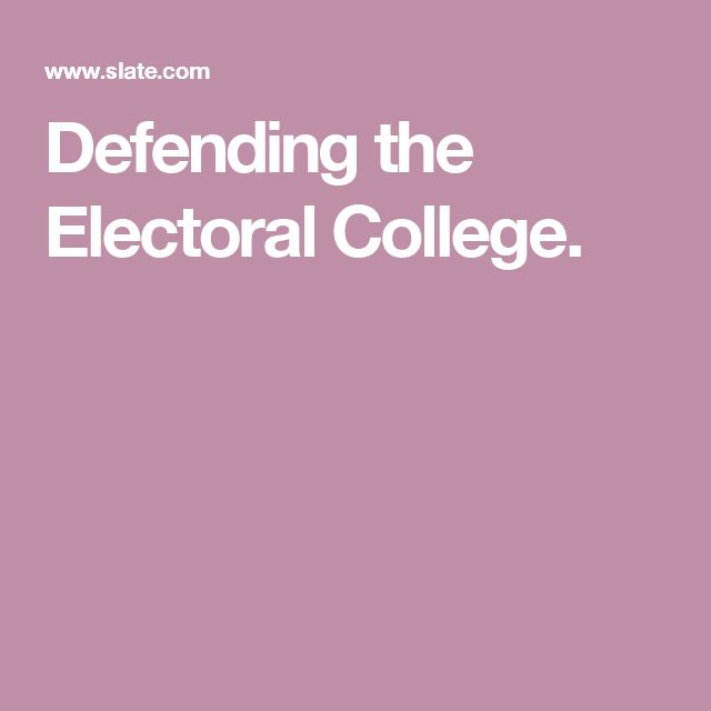 electoral college quiz monday Exploring the electoral college overview in this lesson, students will learn about the history and structure of the electoral college  president on the monday.