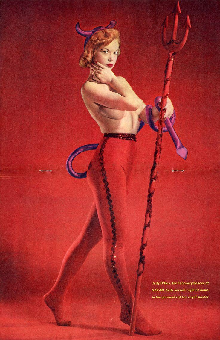 Judy O'Day, 1957.