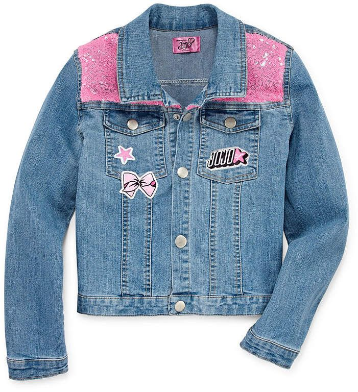 a3b591fee9306 Jo-Jo JOJO Jojo Siwa Girls Denim Jacket