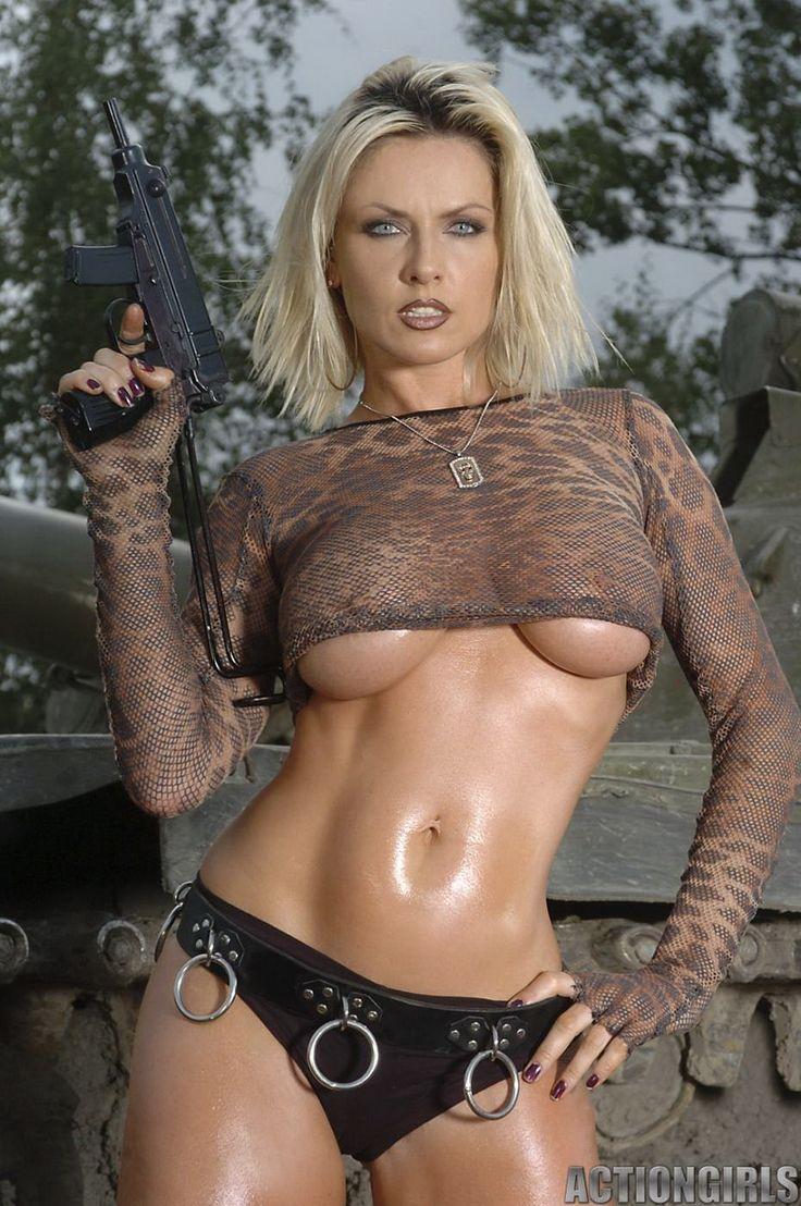 Nudist and gun pics