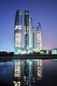Jumeirah at Etihad Towers Hotel Opens in Abu Dhabi | Frequent Business TravelerHotels Open, Frequent Business, Etihad Towers, Towers Hotels, Resorts, Business District, Abu Dhabi, Business Travel, Central Business