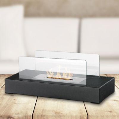 So mancher wünscht sich einen Kamin, aber kaum einer hat den nötigen Platz dafür. Dieser kompakte Bioethanol Tischkamin sieht schick aus passt in jede Bude ;) via: www.monsterzeug.de