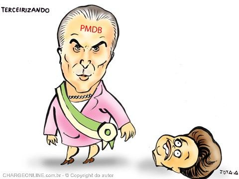 TERCEIRIZANDO O PODER...