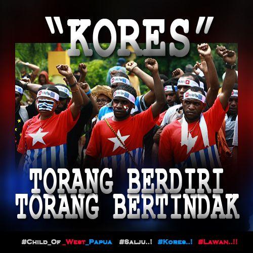 KORES, Torang Berdiri... Torang Bertindak...!! http://bit.ly/1KRXpyG  #Free_West_Papua #Salju #Kores #Lawan