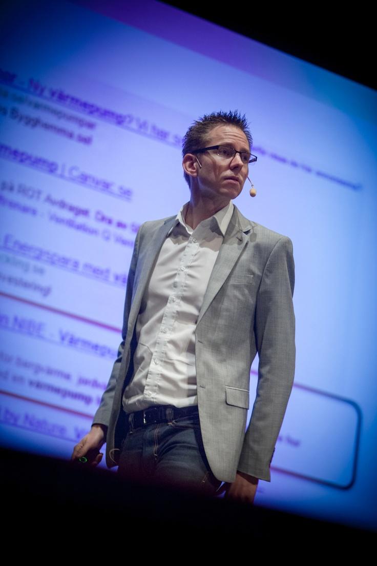 Kalle Blohm från MediaAnalys föreläser om Sökmotoroptimering på Internet i Fokus - Ystad