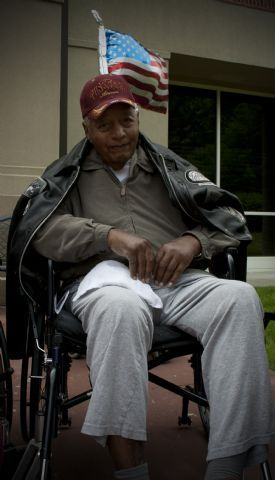 Dr. Dempsey Morgan: one of the original Red Tails, a Lieutenant in the Tuskeegee Airmen during WWII. Click to vote! (Voting opens June 19.)