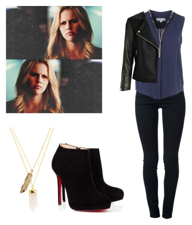 """""""Rebekah Mikaelson - The Originals / tvd / The Vampire Diaries"""" by shadyannon ❤ liked on Polyvore featuring STELLA McCARTNEY, Michael Kors, Christian Louboutin and Privileged"""