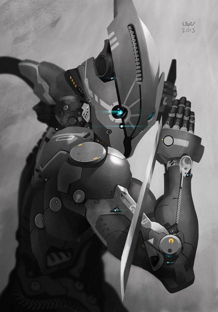 -- Cymurai 11 -- by wyv1 on deviantART