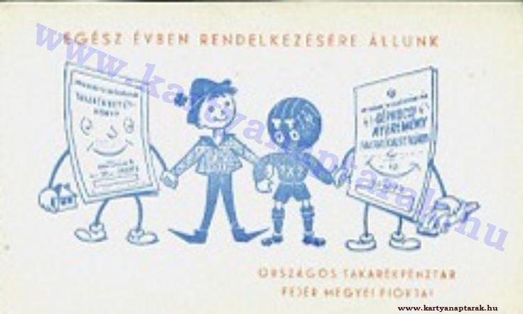 1963 - 1963_0113 - Régi magyar kártyanaptárak