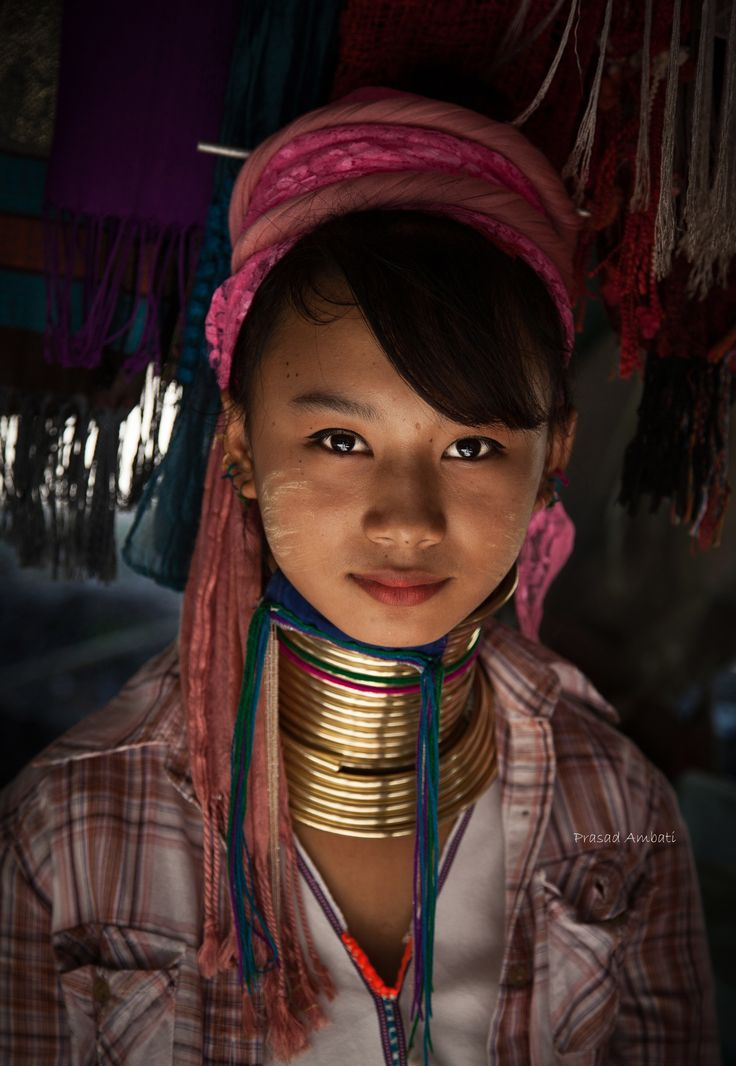 Beautiful Karen Hill Tribe Girl by Prasad A on 500px