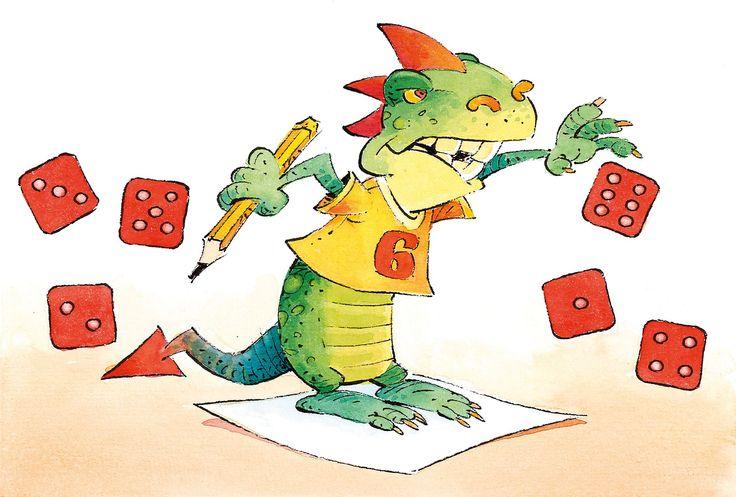 Kauhea kolmonen -peli • Tavoitteena on saada ensimmäisenä pisteiden summaksi 100 tai yli. • Pelaaja heittää 3 noppaa ja laskee pisteiden summan, jos joukossa ei ole kolmosta. Mikäli joku luvuista on kolme, pelaaja ei saa yhtään pistettä ja vuoro siirtyy seuraavalle. • Pelaaja saa heittää toisen ja vaikka kolmannenkin kerran ja laskea kaikki pisteet yhteen. Jos hän saa kolmosen, kaikki sillä kierroksella heitetyt pisteet katoavat. • Ensin sataan päässyt pelaaja voittaa.