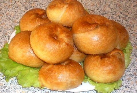 Бабушкины слоистые пирожки