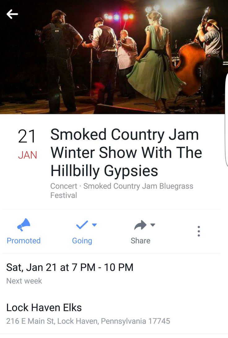 The Hillbilly Gypsies, mainstays at Smoked Country Jam, were recently selected as West Virginia's Best Bluegrass Band, http://www.wvliving.com/Winter-2016/Best-Band/. The lineup has changed a bit, but their shows are better then they have ever been! Don't miss the chance to see them live! All pre-sale tickets are eligible to win a full-festival ticket drawing for Smoked Country Jam. www.purplepass.com/#154812