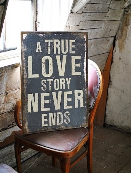 Though it may have bumps and detours along the way . . . true love is, well, true love. - gt