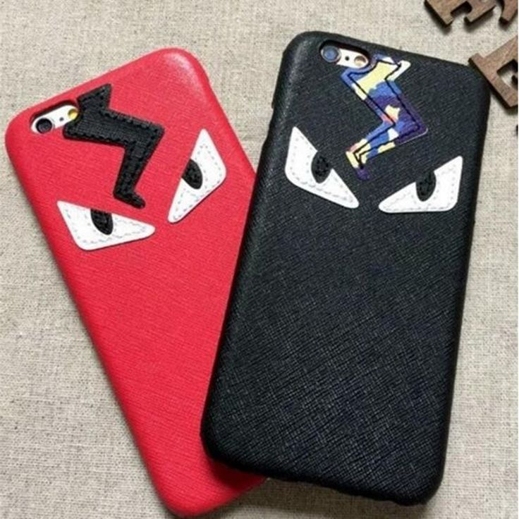 Fashion Cute monsters Leather Case For iPhone 6 6S Plus  Lafayette Case Mr KarlLagerfelds Style Back Cover -in Phone Bags & Cases from Phones & Telecommunications on Aliexpress.com | Alibaba Group