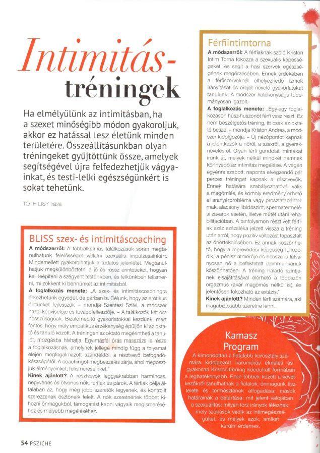 Nők Lapja Psziché – 2014 november