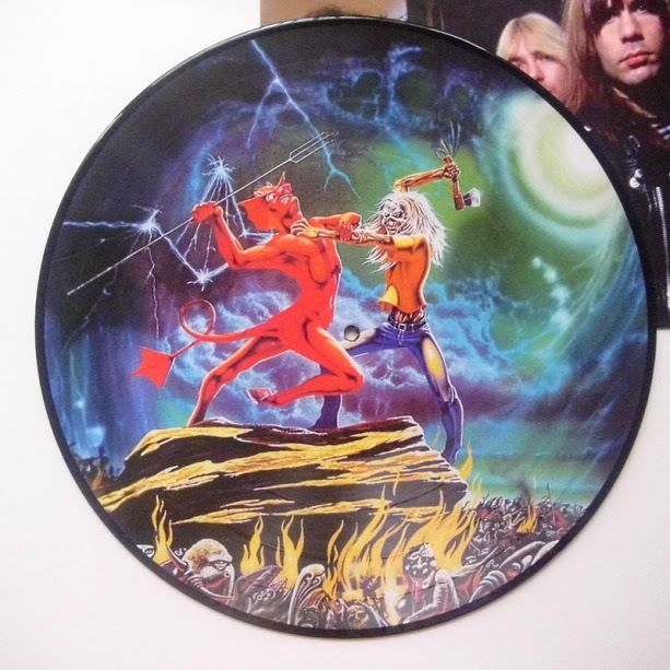 Iron Maiden The Number of the Beast Picture Disc 2012 Metal Record Vinyl LP NM #HardRockBlackGothicMetal