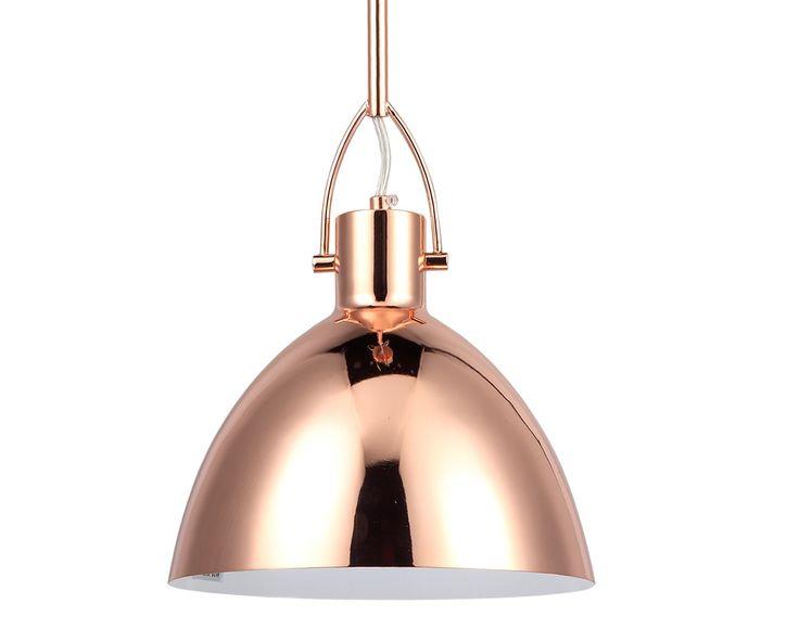 Colgante de techo color cobre #colgante #iluminacion #lampara #decoracion #cobre