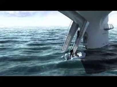 SeaOrbiter, le premier vaisseau capable d'explorer les océans
