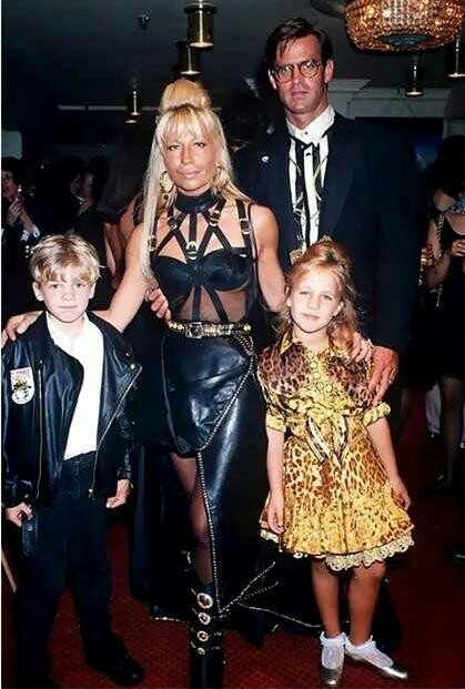 Donatella Versace Married