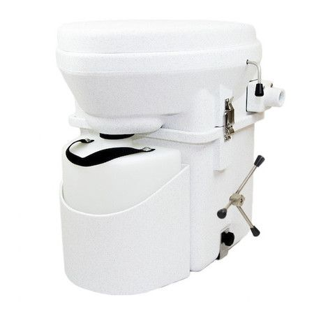 Natures Head Dry Self-Contained Composting Toilet | Tiny Houses Inside
